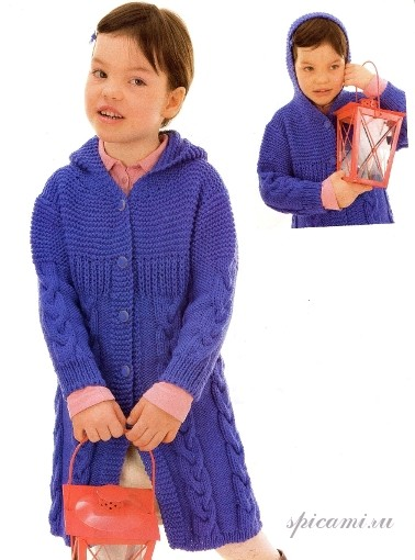 Вязаные пальто для детей (18 фотки ) ::