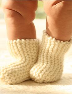 вязаные носки для детей