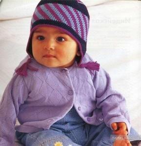 шапочка для младенца