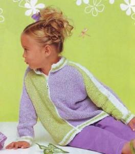 модное вязание для девочки