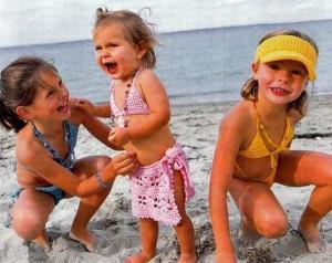 детские купальники вязаные крючком