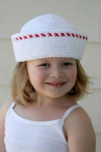 Вязание детских летних шляпок