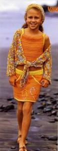 вязание для пляжа