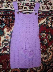 пляжное детское платье