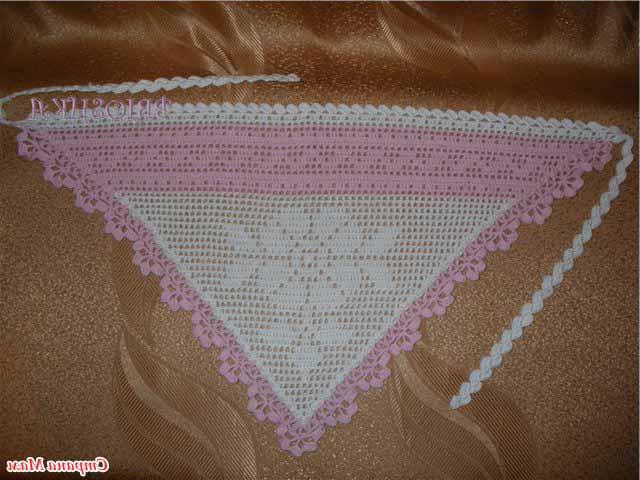 Вязание на спицах шарфа для чайников