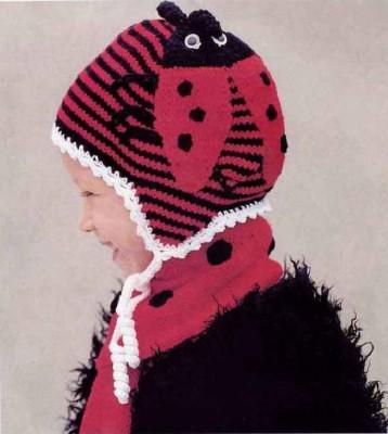 Оригинальная шапочка для малышей своими руками