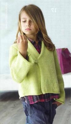 Вязание для девочки 7 лет