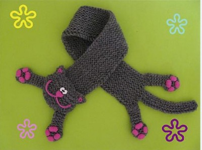шарфик кошка