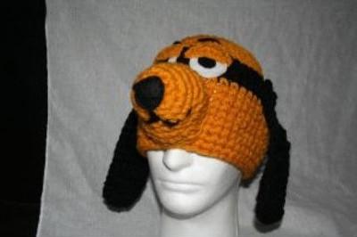 шапочка в виде собаки
