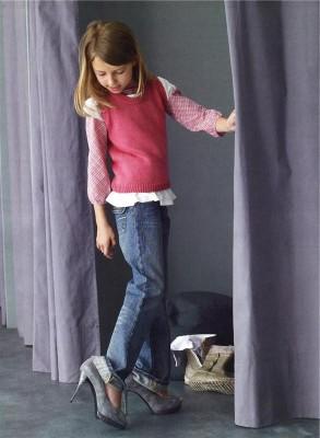 Вязание для девочки 4 лет