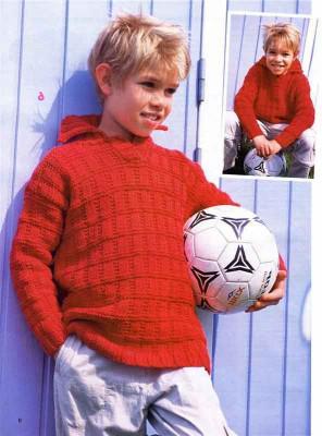 Вязание пуловеров для мальчиков