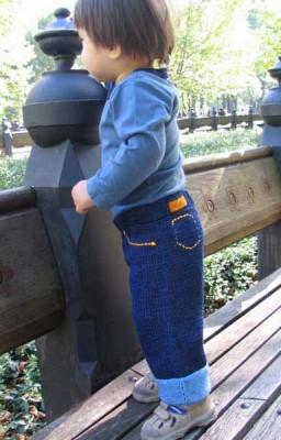 Вязаные штанишки - Модели вязания для.