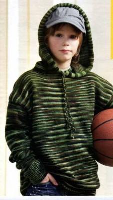вязание джемпера для мальчика
