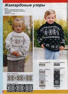 Детская одежда жаккард