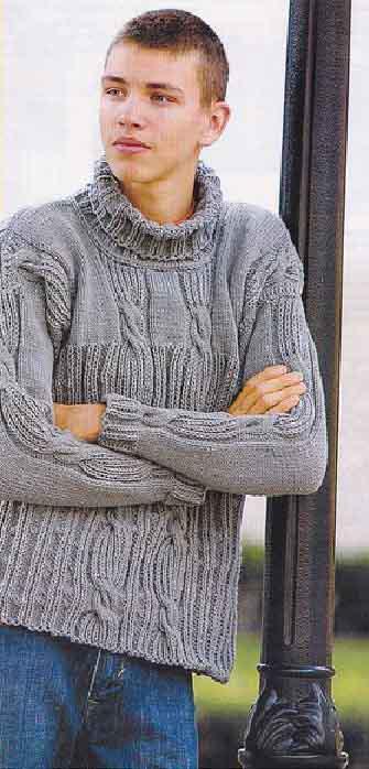 Описание вязания кофт пуловерах