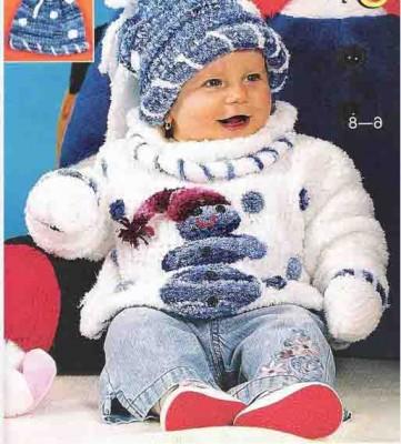 Модное детское вязание