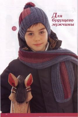 Вязание спицами моделей для мальчиков