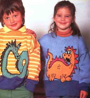 Одежда с драконами