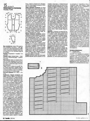 Схема и описание комбинезона