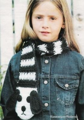 Оригинальный детский  шарф