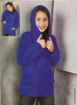 Удобный пуловер на молнии