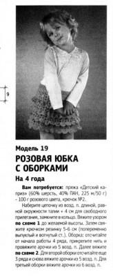 юбочка для девочки 4-х лет