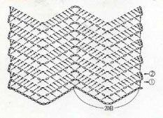 схема вязания голенища