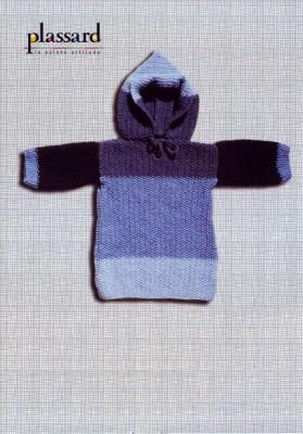 Пуловер с капюшоном для начинающих