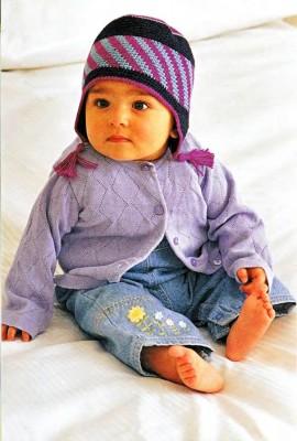Индейская шапочка для малышей