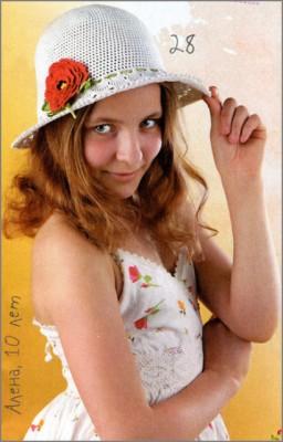 Летняя шляпка для настоящей модницы