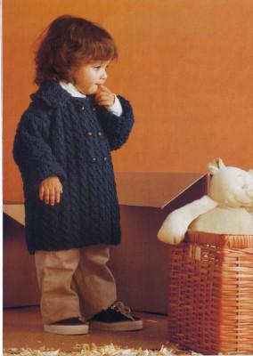Осеннее пальто для малыша