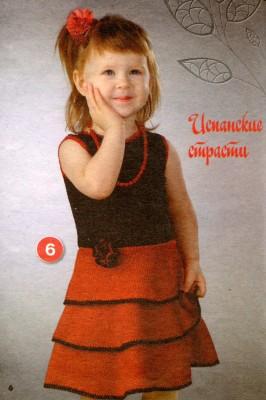 Испанское платье для малышки